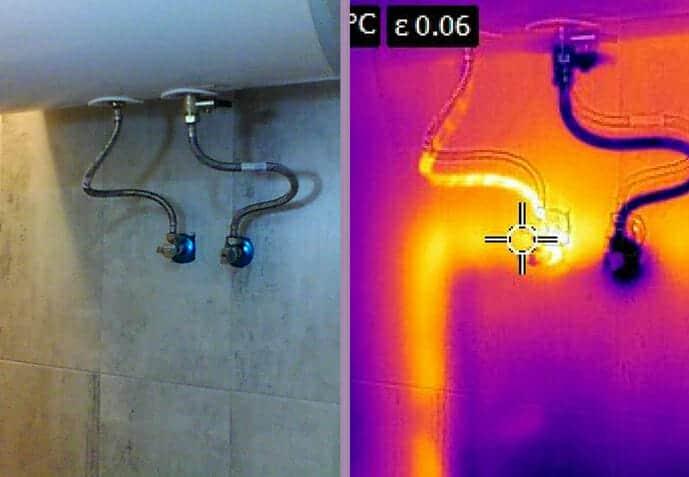 теч от водопровод